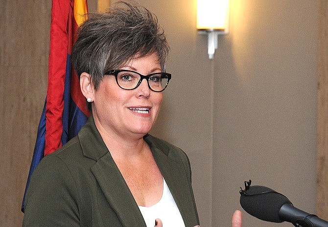 Secretary of State Katie Hobbs is urging the U.S. Supreme Court to swat down a last-ditch effort by the Arizona Libertarian Party to make it easier to put its candidates on the general election ballot. File photo