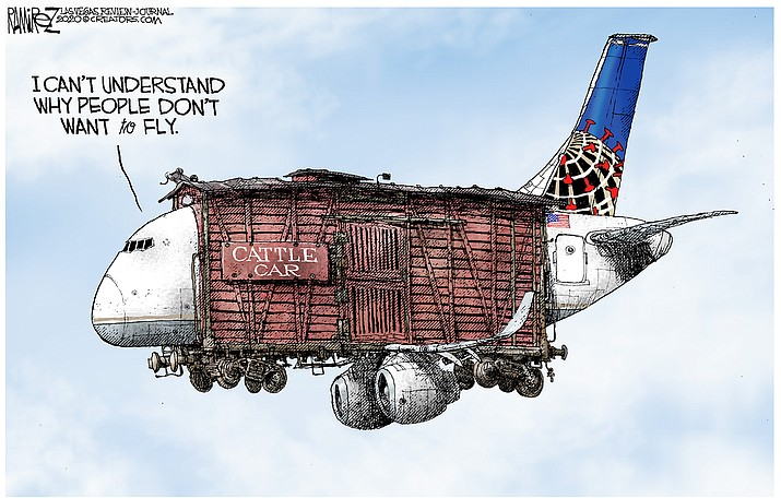 Editorial cartoon (2): May 15, 2020