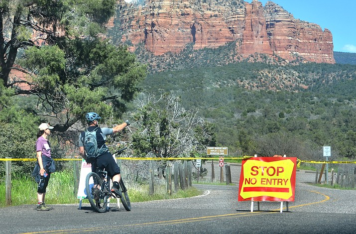 The Courthouse Butte Loop Trail/Vista in the Village of Oak Creek reopens on Friday. VVN/Vyto Starinskas