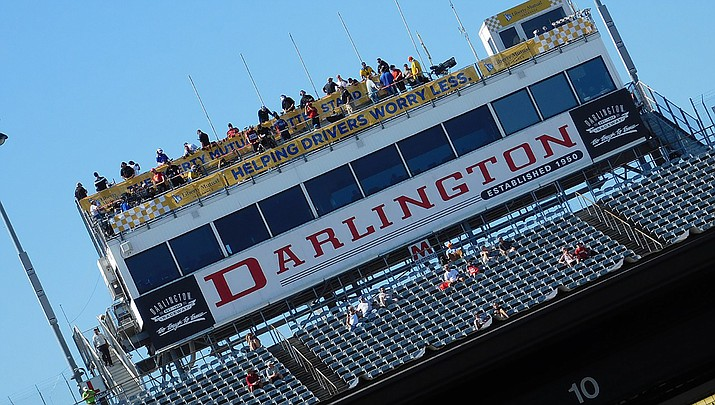 The NASCAR cup series returns to action Sunday, May 17 at Darlington Raceway in Darlington, S.C. (Photo by Zach Caranzareti, cc-by-sa-2.0, https://bit.ly/2WXTqh3)