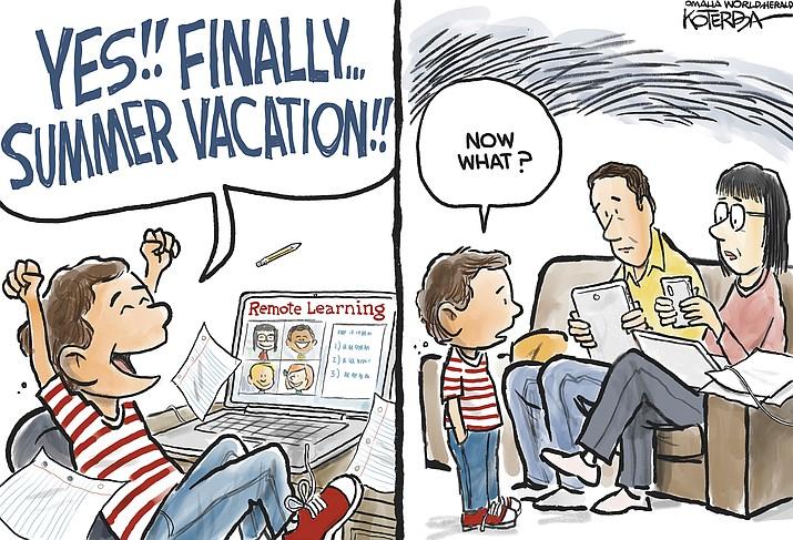 Editorial cartoon (1): May 16, 2020