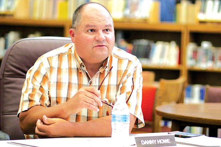 "Danny Howe: ""The pressure was not from this community. Camp Verde is very supportive of going forward. I would rather not comment any further."" VVN file photo"
