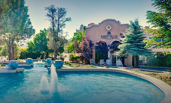 "Forest Villas Hotel, 3645 Lee Circle in Prescott, is sponsoring a ""Pamper a Hero Program"" to give a brief respite to frontline workers who have been serving the community during the COVID-19 pandemic. (Forest Villas Hotel/Courtesy)"