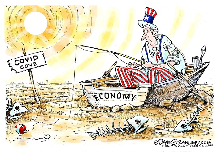 Editorial cartoon (2): May 17, 2020