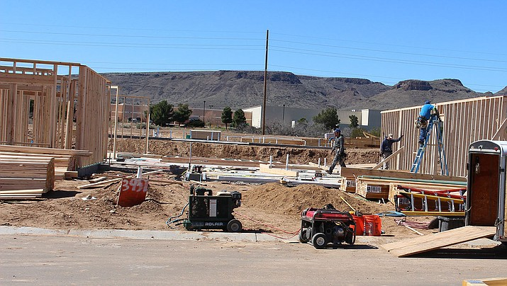 Mohave County issued 12 building permits during the week ending May 8. (Miner file photo)