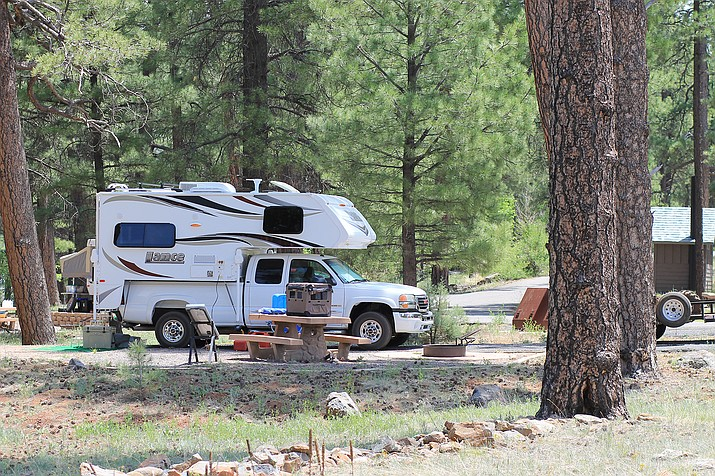 Kaibab National Forest campgrounds have opened for the season. (Wendy Howell/WGCN)