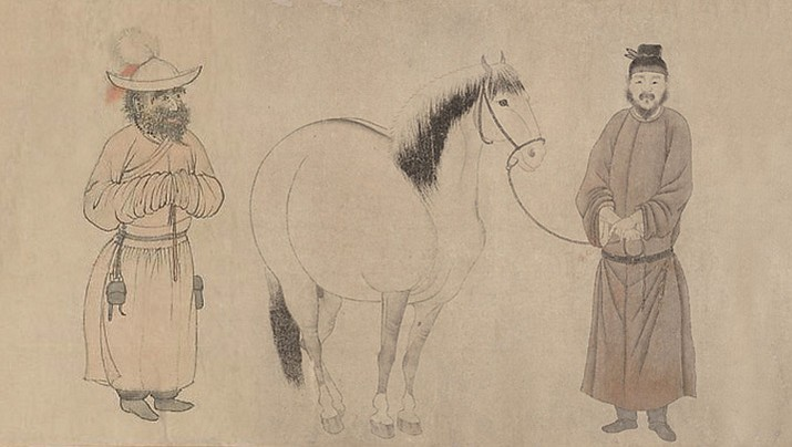 (Illustration created from early Yuan period Chinese art dated 1296)