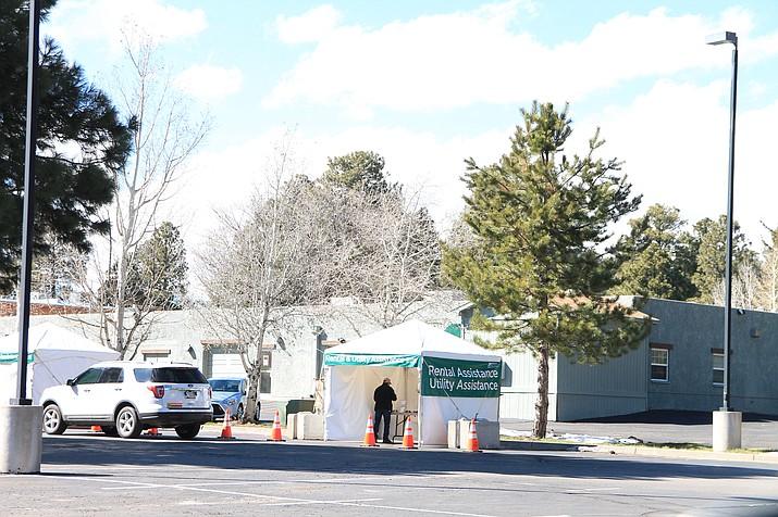 Coconino County Health Department in Flagstaf, Arizona. (Loretta McKenney/WGCN)