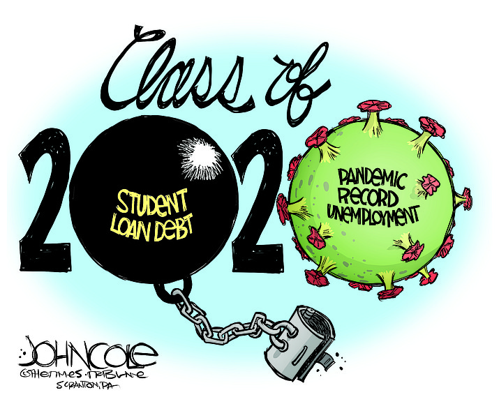 Editorial cartoon (1): May 20, 2020