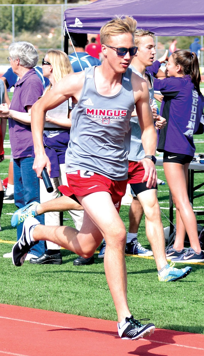 Mingus senior runner Silas Willoughby last week signed a letter of intent to attend Northwest University in Kirkland, Wash., in the fall and compete on the Eagles' track and field and cross country teams. VVN file photo
