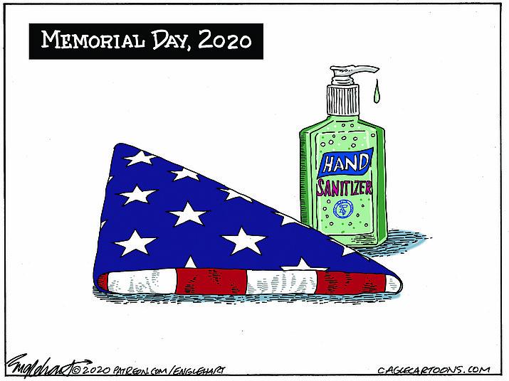 Editorial cartoon (1): May 21, 2020