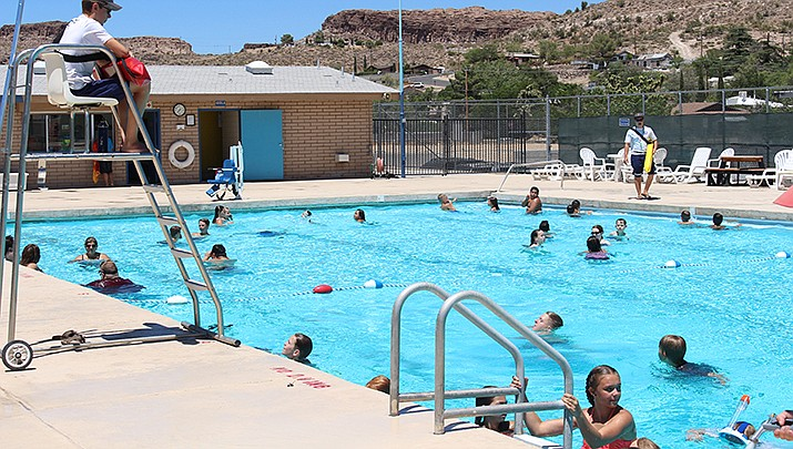 Aquatics facilities will operate from 1-5 p.m. Monday, May 25 through Saturday, May 30 due to limited staffing. Pictured here is Grandview pool before the coronavirus outbreak. (Miner file photo)