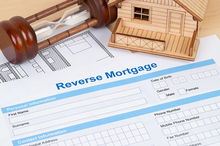 Reverse mortgages allow older homeowners to turn part of their home equity into tax-free cash, using a loan that doesn't have to be paid back until they die, sell or move out. (Courier stock photo)