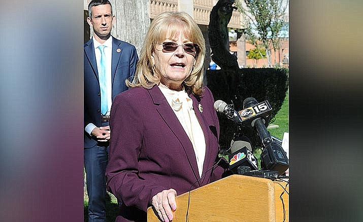 Senate President Karen Fann, R-Prescott, said she is looking to wrap up all unfinished business on Tuesday. File photo