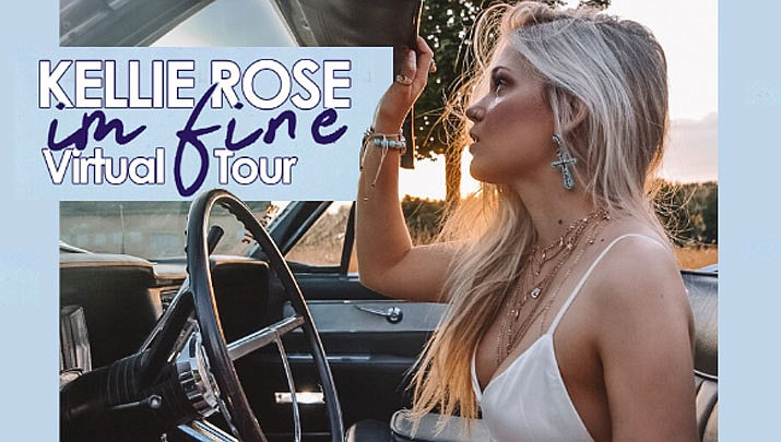 Tune in online for a free Kellie Rose virtual concert from the Findley Toyota Center at 7 p.m. on Friday, May, 22, 2020.