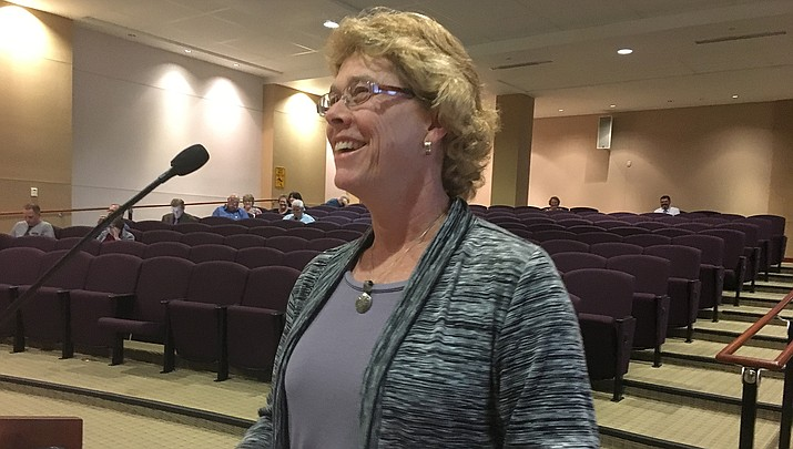 Denise Burley, director of the Mohave County Department of Public Health, continues to give county supervisors twice-weekly updates about coronavirus cases in the county. (Miner file photo)