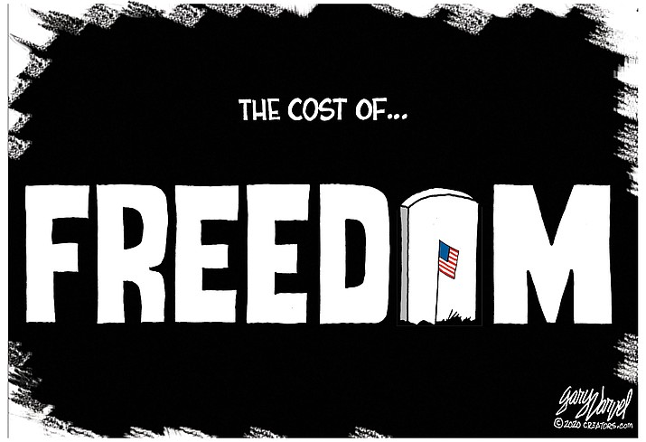 Editorial cartoon (1): May 24, 2020