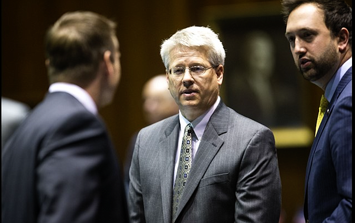 Sen. Eddie Farnsworth is blaming Attorney General Mark Brnovich for the failure of his legislation to preclude prosecutors from seizing property without first getting a criminal conviction. File photo