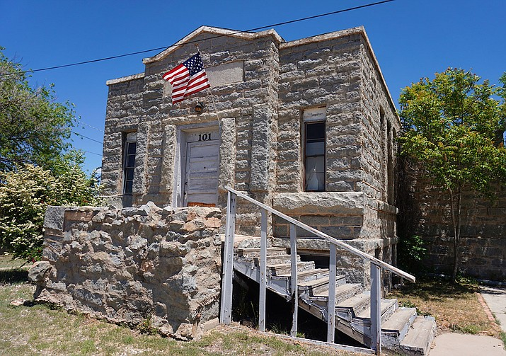 This little stone building yields plenty of history and as long as it stands, it helps preserve memories of Chino Valley's humble beginnings in the early 20th century. The antique building, which is now out of commission, was Chino Valley's first Church of Jesus Christ of Latter-day Saints chapel that was brought to life by the first Mormon settlers in the area. It was dedicated in June, 1924. (Amy Sanders/Courtesy)