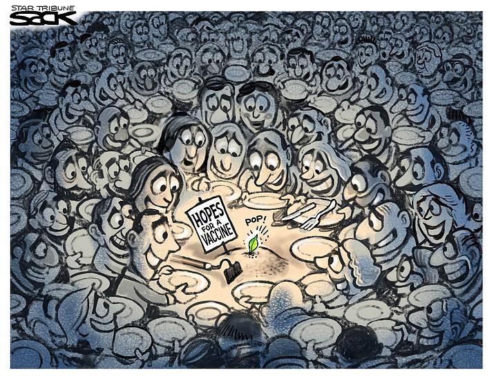 Editorial cartoon (1): May 26, 2020