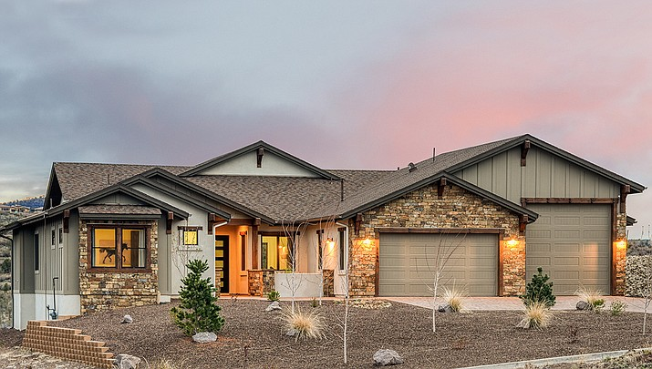 At Capstone Homes at Yavapai Hills, we offer our unique Design Build concept to build the custom home you have in mind, or if you need inspiration, we proudly present four floorplans that exemplify our finest in Prescott living. (Capstone Homes)