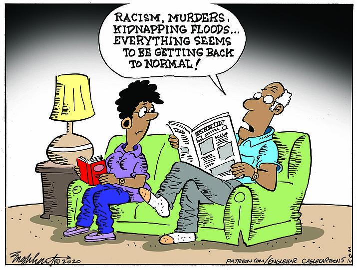 Editorial cartoon (1): May 29, 2020