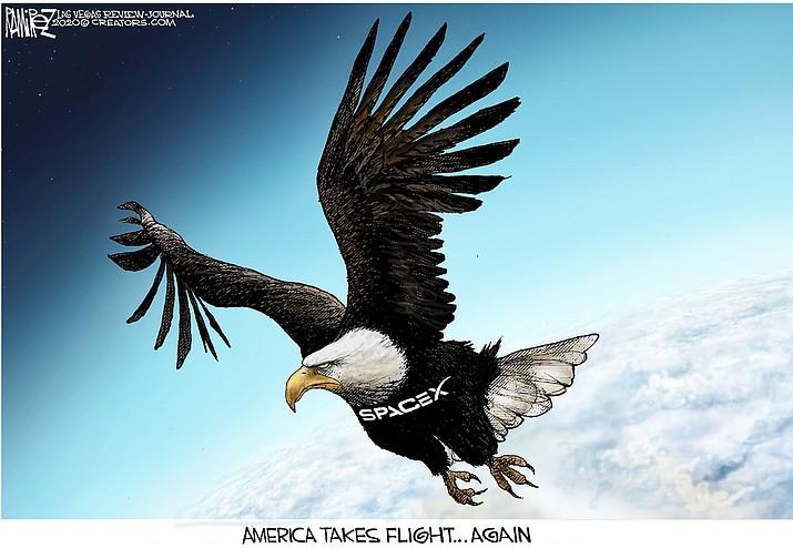 Editorial cartoon (1): May 31, 2020