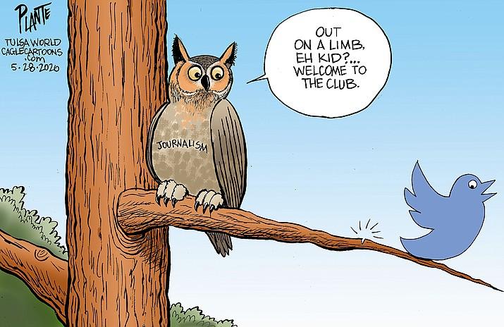 Editorial cartoon (1): June 1, 2020