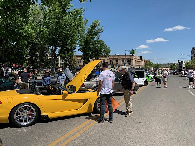 The third annual 21st Century Car Show is scheduled for downtown Prescott on Cortez St. June 6, 2020. There is a $20 registration fee for car owners. To register your car for this event or for more information, visit, 21stcenturycarshow.org. Admission is free for visitors. (Charles Hicks/Courtesy)