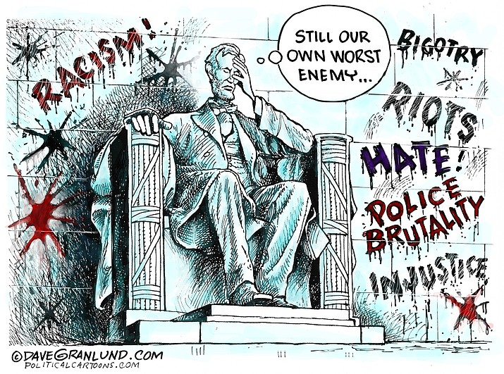 Editorial cartoon (2): June 2, 2020