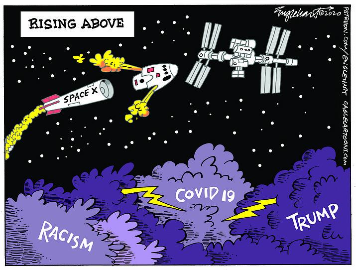 Editorial cartoon (1): June 2, 2020