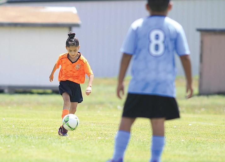 AYSO has cancelled the summer soccer season. (Loretta McKenney/WGCN)