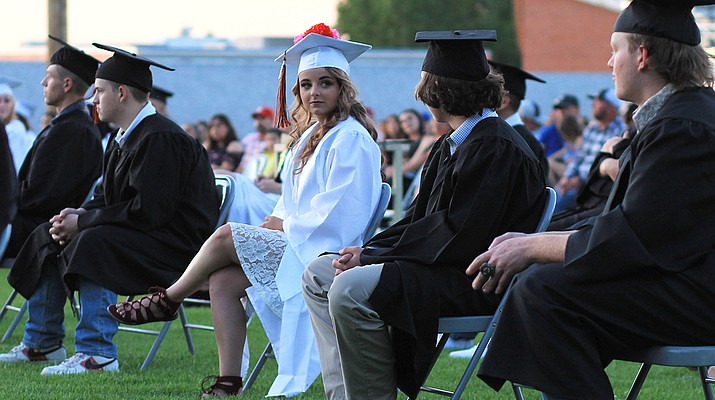 Pomp, circumstance and joy: Williams High School hosts outdoor graduation ceremony