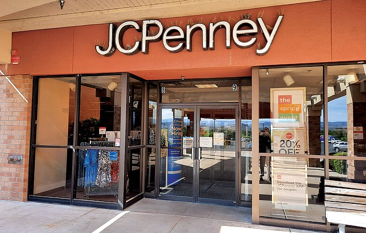 The Verde Valley's only JCPenney store, in Cottonwood, has been closed since March. It is not on a list of recently re-opened stores, and a company employee said it isn't known yet whether the store will re-open once the chain determines a restructuring plan. VVN/Jason W. Brooks