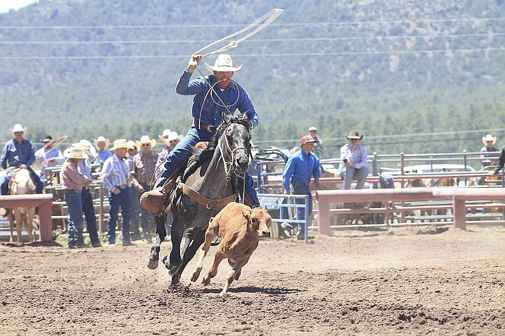 The 42nd annual Cowpunchers Reunion Rodeo has been moved to July 24-26. (Loretta McKenney/WGCN)
