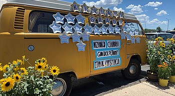Graduation parade: Flagstaff schools cruise Fourth Street to celebrate 2020 grads photo