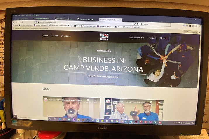 """The Camp Verde Chamber and Business Alliance has created an online business directory that is a """"one-stop place for business."""" VVN/Bill Helm"""