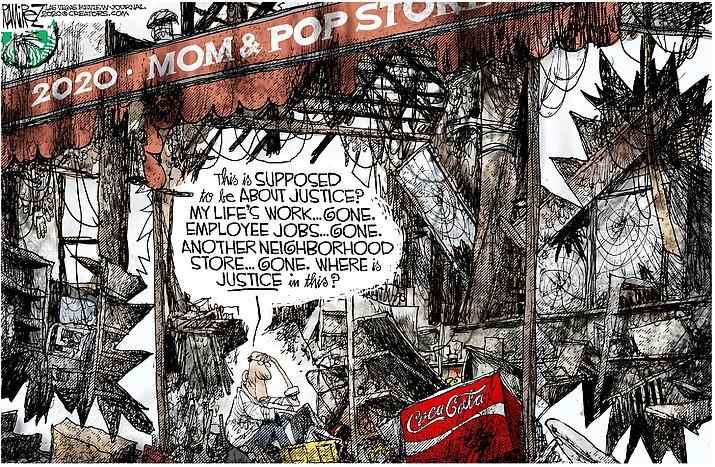 Editorial cartoon (1): June 4, 2020