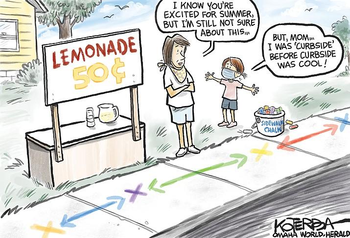 Editorial cartoon (1): June 6, 2020