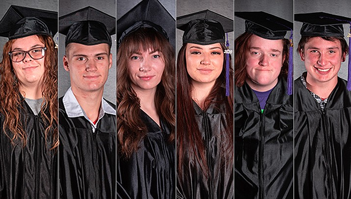 Pictured from left: Hanna D. Alvarado, Colton J. Hinchcliff, Olivia R. Middlestetter, Brianna X. Ortiz, Jesse C. Smith, and Maximus D. Womack. (PACE/Courtesy)
