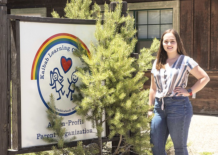 Grand Canyon resident and NAU graduate Ellyse Moreno is the new director of Kaibab Learning Center. (V. Ronnie Tierney/WGCN)