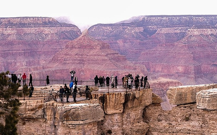 Grand Canyon National Park closed April 1  because of concerns surrounding the spread of the coronavirus. The park is slowly reopening, but some groups worry that the National Park Service is not taking sufficient health precautions. (Loretta McKenney/NHO)