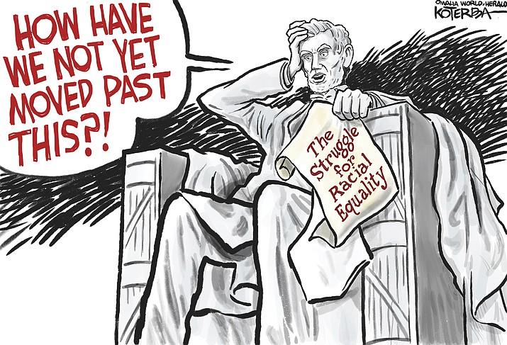 Editorial cartoon (2): June 10, 2020