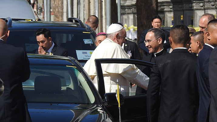 Pope Francis has weighed in on the George Floyd killing at the hands of police. (Photo by PEAK99, cc-by-sa-4.0, https://bit.ly/2UvDORq)