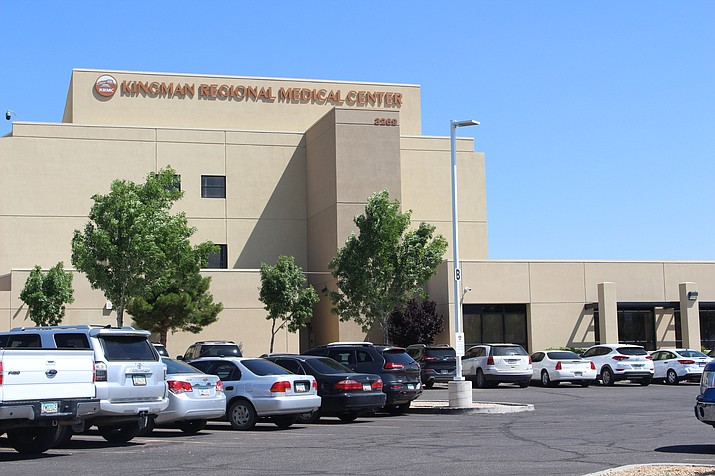 Mohave County health officials said last week that an increasing number of patients are in the intensive care units of hospitals in the county due to COVID-19. Kingman Regional Medical Center is shown above. (Miner file photo)