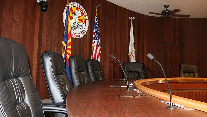 With the Mohave County Board of Supervisors denying the City of Kingman's request to hold the Tuesday, June 16 council meeting at the county auditorium due to COVID-19 concerns, the council will once again meet electronically. (Miner file photo)