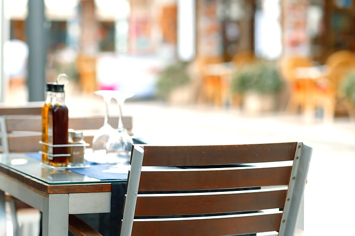 Under the ordinance, restaurants are allowed to increase dining space up to 50 percent via outdoor seating. (Adobe Stock photo)