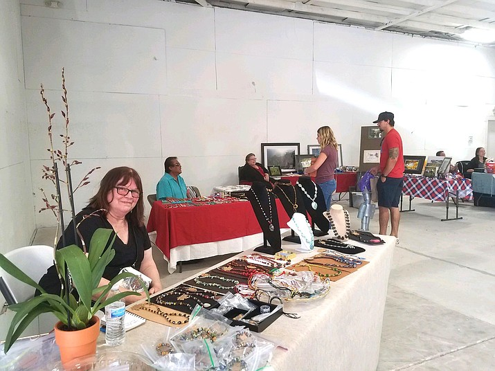 On June 13, Williams Kiwanis Club hosted a craft fair at the Williams Recreation Center in downtown Williams. The fair is an annual tradition and features crafts from local vendors. (Submitted photo)