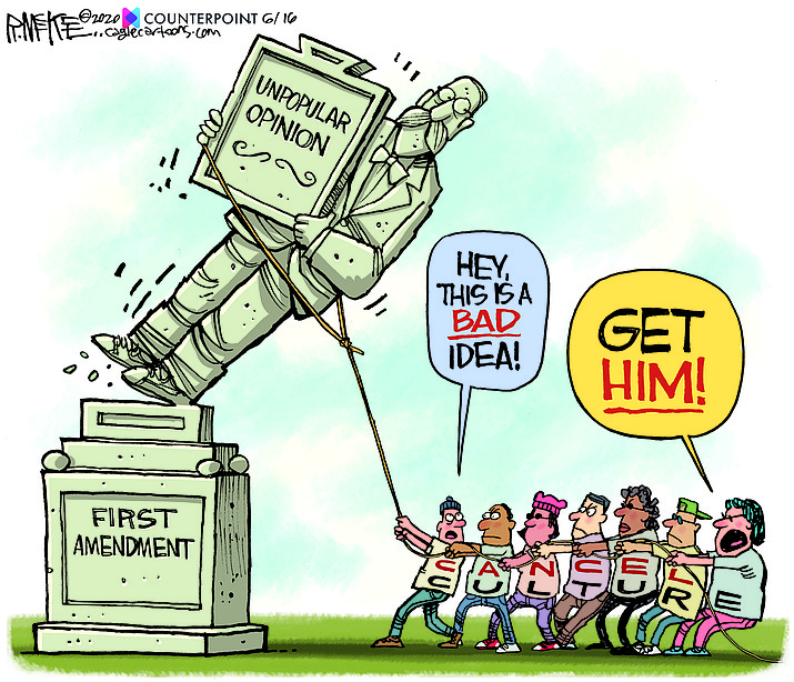 Editorial cartoon (2): June 18, 2020