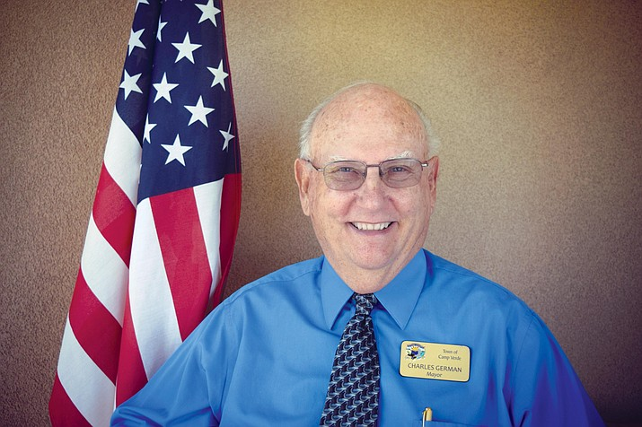 Charlie German is seeking re-election as Camp Verde's mayor in the town's Aug. 4 municipal primary. Courtesy photo
